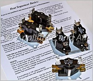 Electric Furnace Sequencer Replacement Instructions for Home ... on